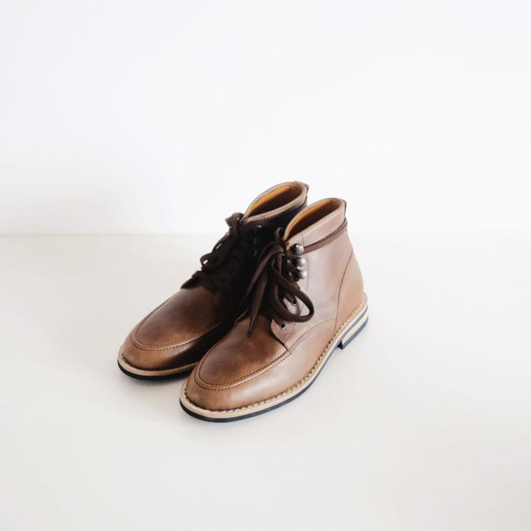 Derby Moc Boots Natural Chromexcel-1